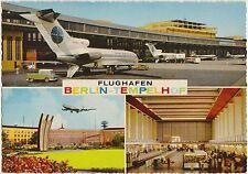 FLUGHAFEN BERLIN TEMPELHOF - VEDUTINE - AEROPORTO AEREO PAN-AM (GERMANIA) 1969