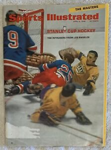 8.8.68 STANLEY CUP * LOS ANGELES KINGS Sports Illustrated - The Masters Augusta