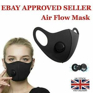 Reusable Foam Face Mask Covering Washable Breathable Dust Hospital Visitor
