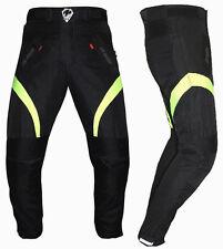 Pantalone Per Moto Scooter Imbotito Con Protezioni Uomo Donna 44 48 50 52 54 56
