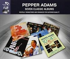 7 Classic Albums by Pepper Adams (CD, Sep-2014)