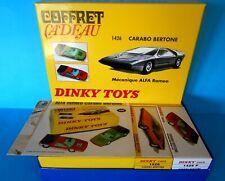 DINKY TOYS COFFRET CARABO BERTONE ALFA ROMEO 2083932  ATLAS EDITIONS 1/43 [N]