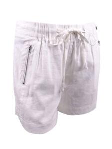 INC International Concepts Women's Plus Size Drawstring Shorts
