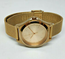 Ladies DKNY Rose Gold Plated Stanhope Watch NY-2489