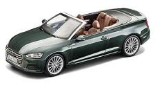AUDI A5 CABRIOLET CABRIO modello auto 1:43 MODELLO 2017 gotlandgrün 5011705333