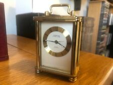 Vintage Looping Carriage Clock with Alarm Cased...Mechanical.8 Day Swiss