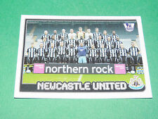 N°437 NEWCASTLE UNITED ENGLAND MERLIN PREMIER LEAGUE FOOTBALL 2007-2008 PANINI