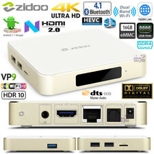 ZIDOO H6PRO 2G DDR4 16GB Android 7.0 TV Media Box HDR10 VP9 BT4.1 AC Dual WiFi