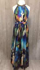 Anthropologie Ranna Gill Tropicalia Maxi Dress Large, L Beautiful! VHTF! Medium