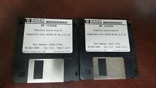 Hp 16500B System Disk #1 and #2