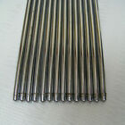 SET OF 13 VINTAGE CHROME/SILVER COLOR STAIR RODS
