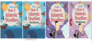 Safar- Islamic Studies Book Text Book/ Workbook 5-6