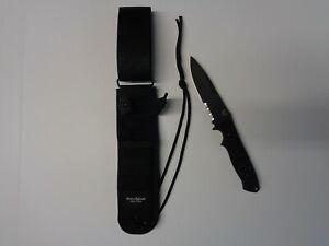 Benchmade 140SBK Nimravus Fixed Blade Knife w/ Sheath Black