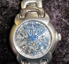 Wohler Stainless Stell Skeleton Automatic Watch