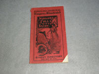 Niagara Falls City Guide the Falls and Scenery Illustrated Directory Book 1907