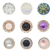 Muslim Hijab Scarf Shawls Pin Brooch Acrylic Pearl Mwtal Magnetic Pin Buckle