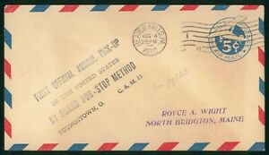 MayfairStamps US First Flight Cover 1930 Beaver Falls to Youngstown Ohio wwp6861