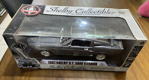 SHELBY COLLECTIBLES 1967 GT500E ELEANOR 1:18 DIE CAST METAL IN SEALED PACKAGE