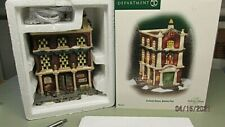 Dept 56 Dickens Village Series CUSTOMS HOUSE, QUEENS PORT