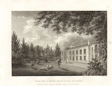 the seats of nobility & gentry 1787 -1815 engraving -  pelling place . berkshire