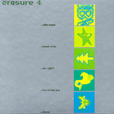 Erasure 4 / EBX Singles, Erasure, Excellent Import, Single, Box set