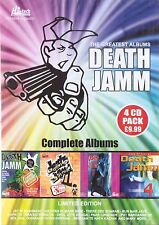 THE GREATEST ALBUMS DEATH JAMM - COMPLETE ALBUM - NEW BHANGRA 4CDs SET