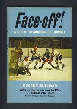 Bobby Hull signed 1968 Face-Off hockey book