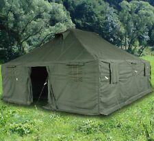 Mannschaftszelt US Bundeswehr NATO BW oliv green 6 x 5 Meter Zelt Armee Tent