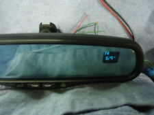 AUTO DIM REAR VIEW MIRROR TEMPERATURE COMPASS TEMP silverado sierra tahoe CUSTOM