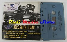 MC AEROSMITH PUMP 1989 GEFFEN U.S.A. M5G 24254 no cd lp dvd vhs *