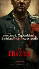 THE CRAZIES - Original Movie Poster One Sheet MINT 2010