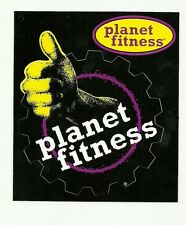 TWO, Planet Fitness Gym Health Club Thumbs Up, Gear Decal Sticker, NEW