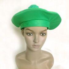 St Patricks Day Irish Green Jock Beret Style Hat Fancy Dress Party Accessory