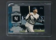 2013 topps mini chasing history BABE RUTH YANKEES #MCH-14 LEGEND HOF