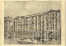 1904 The New St Bartholomew's Hospital, Street View, Eb I'anson Architect