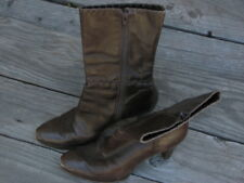 Antonio Melani Women's Boots- Shoes Size 7M Brown Leather Made in Brazil