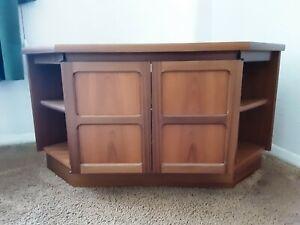Nathan Furniture corner TV unit used condition