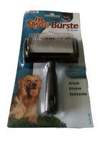 Quality Trixie Single Sided  Metal Bristles Dog Brush Black Plastic Handle