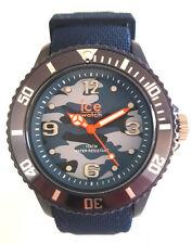 Ice-Watch 016293 Bastogne Blue M Army Uhr camouflage neu Silikonband blau 31