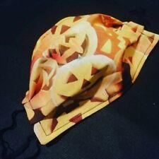 Pumpkin Halloween Adult Face Mask