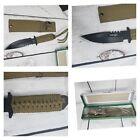 """Survivor 7.5"""" sawback survivor knife Stainless Steel Knife Tactical Dagger"""