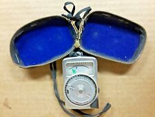Vintage Sekonic Micro-Leader Light Meter with Case