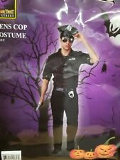New Mens Cop Police Complete Halloween Costume  OT536 Costumania