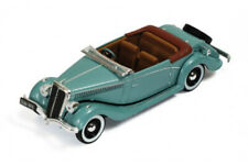 IXO MUS038 1:43 Salmson S4E 1938 Metallic Green with Brown Interiors