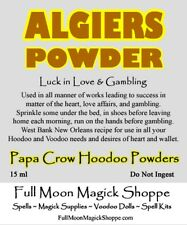 Algiers Powder Voodoo Hoodoo Ritual Dust Love Sex Passion Romance Gambling Luck