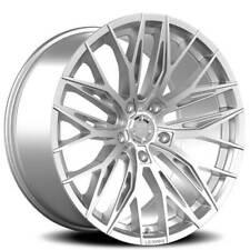 """(4) 20"""" Lexani Wheels Aries Silver Rims(B45)"""