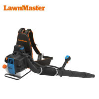 LawnMaster No-Pull Backpack Leaf Blower 31cc 2-Cycle Engine,470CFM,175MPH