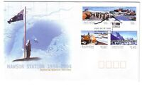 "2004 FDC AAT. Mawson Station 1954-2004. ""Flag"" Pict.FDI  ""KINGSTON"""