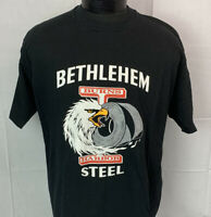 Vintage Bethlehem Steel T Shirt Single Stitch Made In The USA 90s Men's 2XL XXL