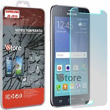 "Pellicola in Vetro Per Samsung Galaxy J5 SM-J510 2016 Salva Schermo Display 5,2"""